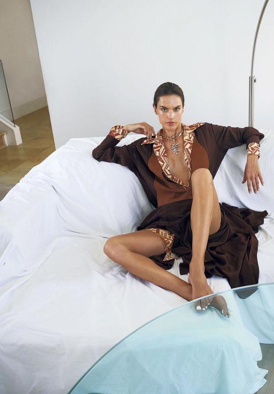 Alessandra Ambrosio - Fashion & Arts Magazine October 2018