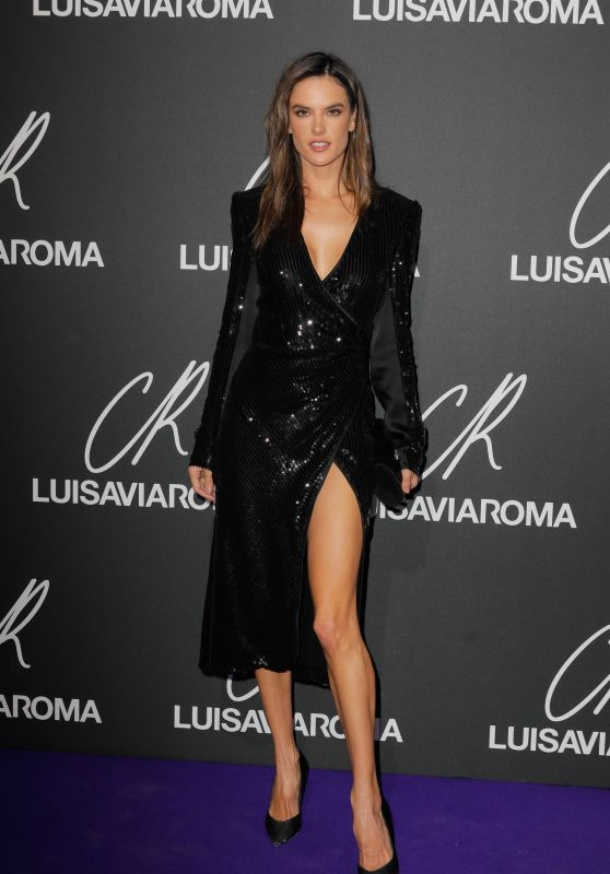 Alessandra Ambrosio – Launch of the CR Fashion Book Issue 13 in Paris