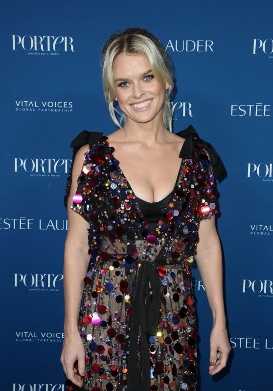 Alice Eve – Porter's Incredible Women Gala 2018