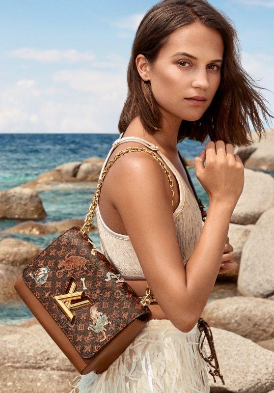 Alicia Vikander - Louis Vuitton Cruise 2019