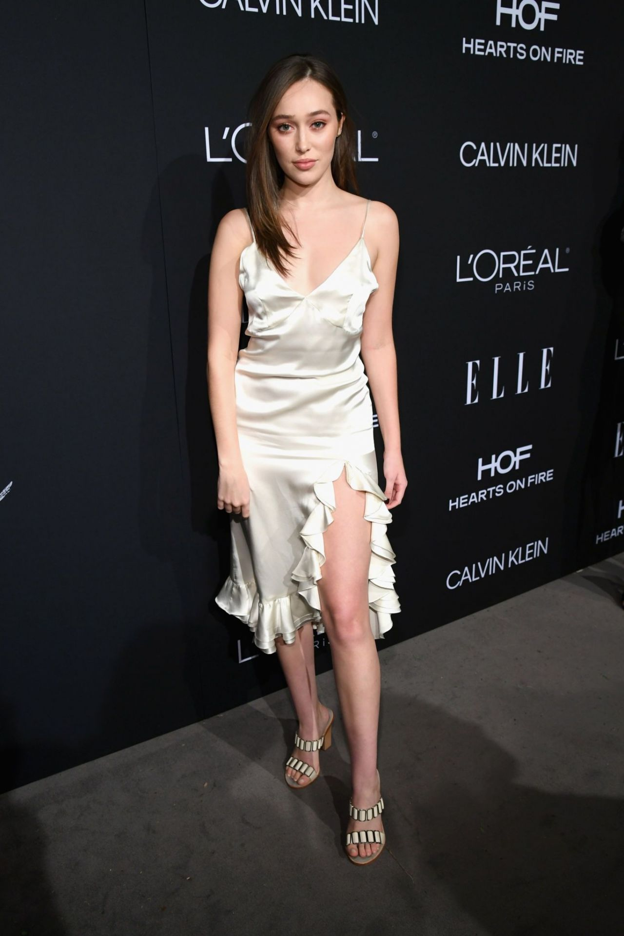 Alycia Debnam Carey Elle S 25th Annual Women In
