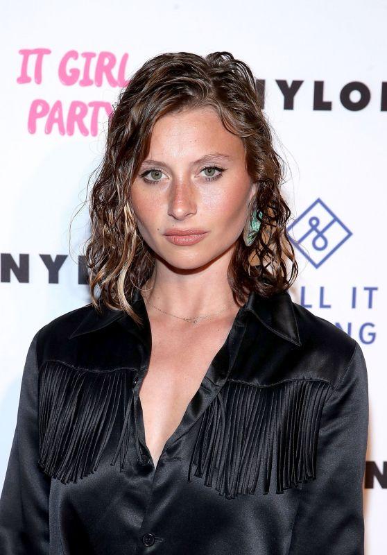 Alyson Aly Michalka – NYLON's Annual It Girl Party in LA 10/11/2018