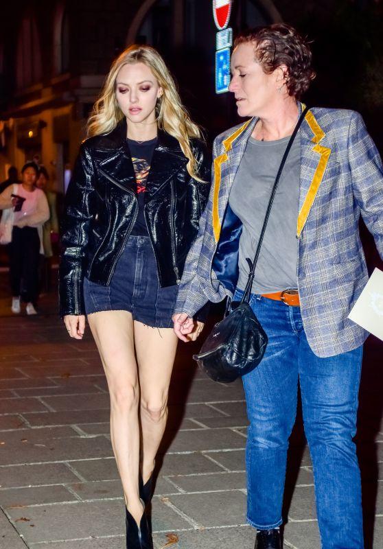 Amanda Seyfried Night Out Style - Paris 09/30/2018