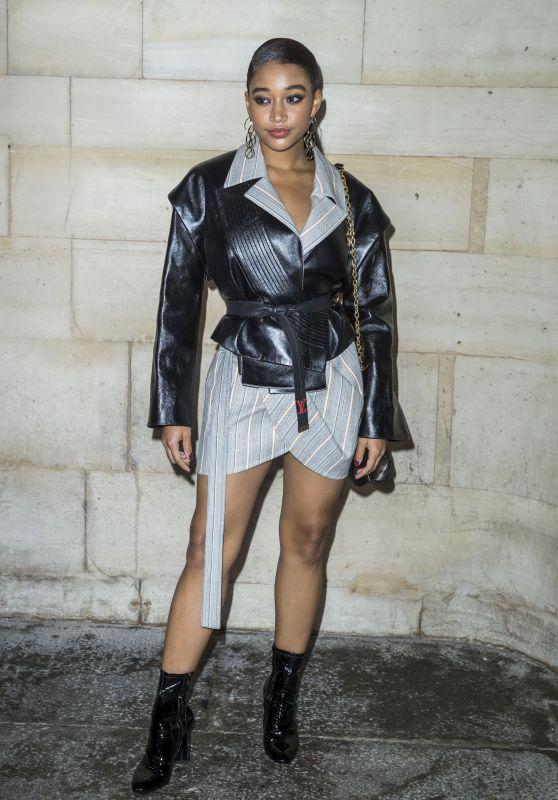 Amandla Stenberg – Louis Vuitton Show, Paris Fashion Week 10/02/2018