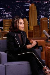 Amandla Stenberg - The Tonight Show Starring Jimmy Fallon 10/10/2018