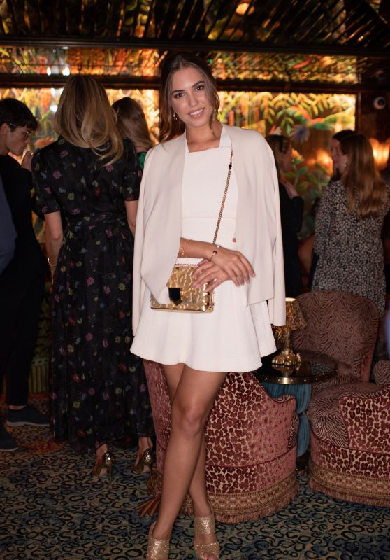 Amber Le Bon - Cartier Dinner Party in London 10/18/2018
