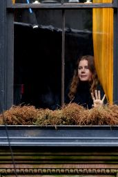 "Amy Adams - ""Woman in the Window""Movie Set in NYC 10/15/2018"
