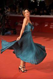 "Andrea Delogu – ""The Girl in The Spider's Web"" Red Carpet at Rome Film Festival"