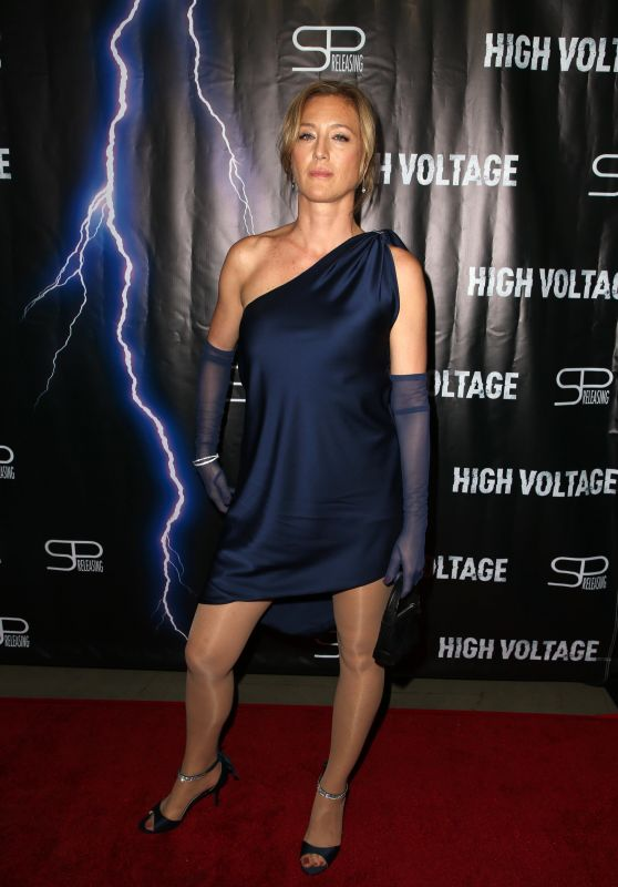 "Angela Hadnagy – ""High Voltage"" Premiere in LA"