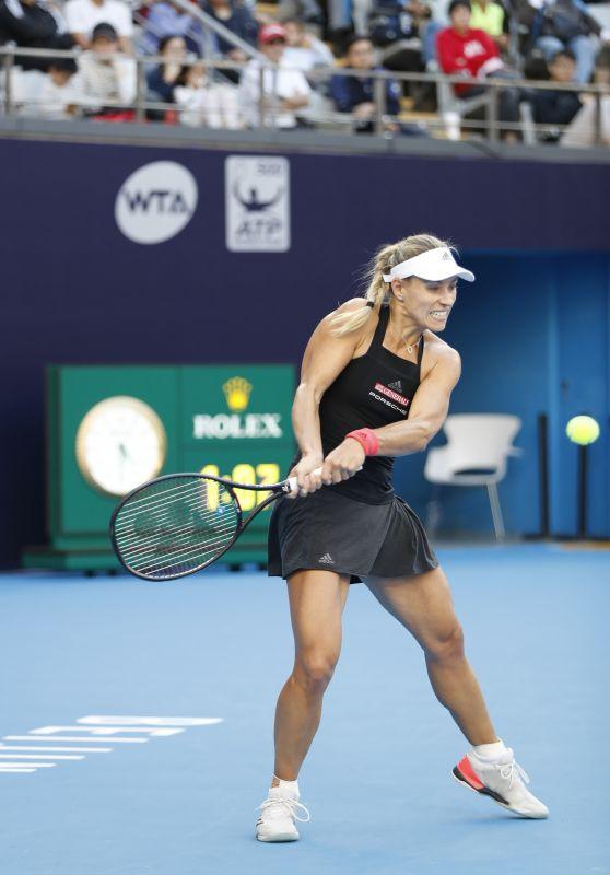Angelique Kerber – China Open Tennis Tournament in Beijing 10/02/2018