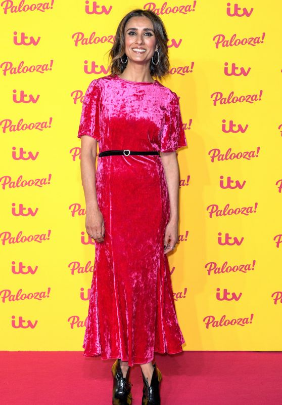 Anita Rani – ITV Palooza! in London 10/16/2018
