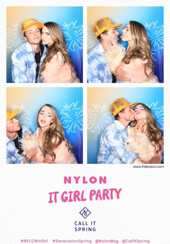 Anne Winters - NYLON It Girl Party Photo Booth in Los Angeles 10/11/2018