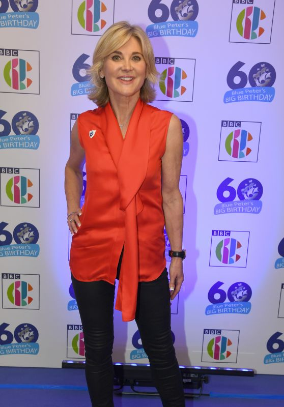 Anthea Turner – Blue Peter's Big Birthday 60 Years Celebration Event in London
