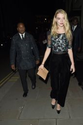 Anya Taylor-Joy - Leaving the BFI Party in London 10/20/2018