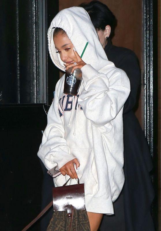 Ariana Grande - Leaving a Studio in NYC 10/2/2018