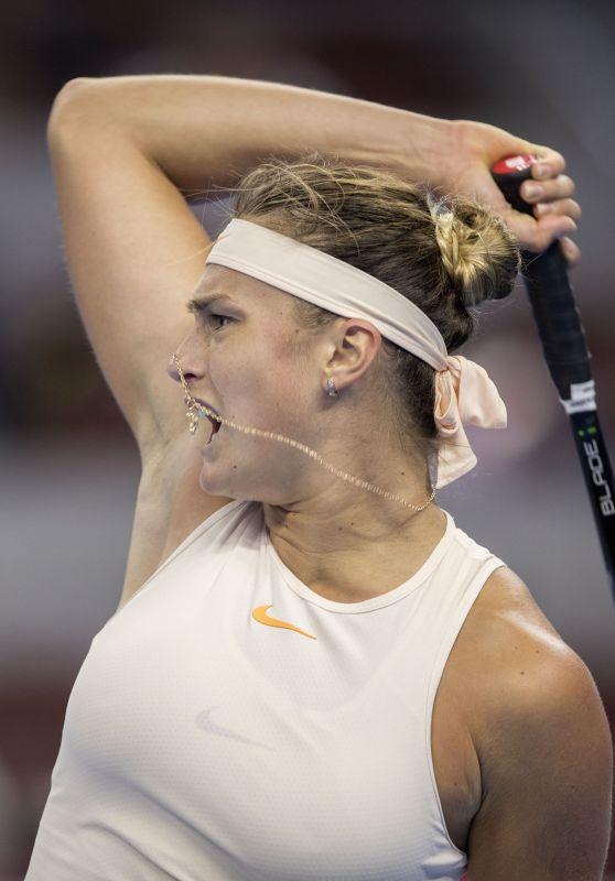 Aryna Sabalenka – China Open Tennis Tournament in Beijing 10/02/2018