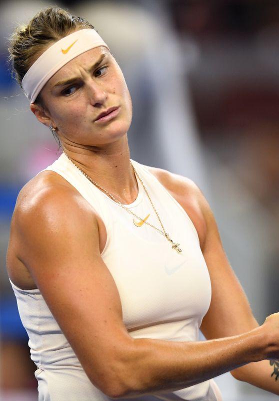 Aryna Sabalenka – China Open Tennis Tournament in Beijing 10/05/2018