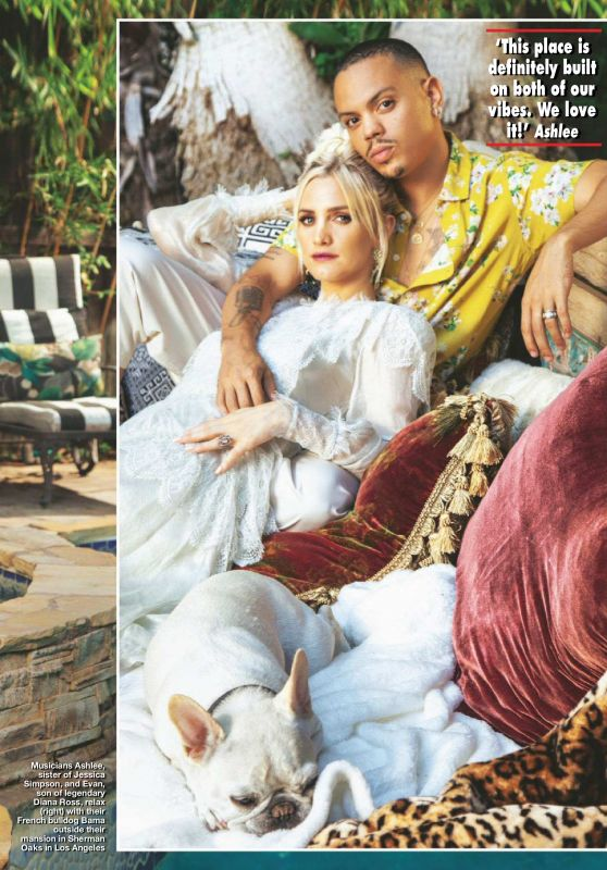 Ashlee Simpson and Evan Ross - Hello UK October 22, 2018