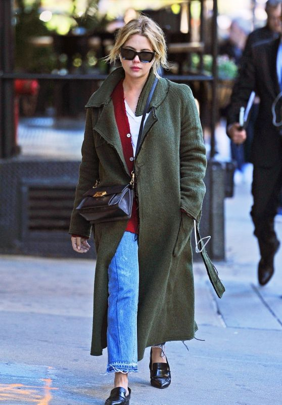 Ashley Benson - Out in New York 10/19/2018