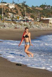 Ashley Brinton in Bikini Top in Malibu 10/18/2018