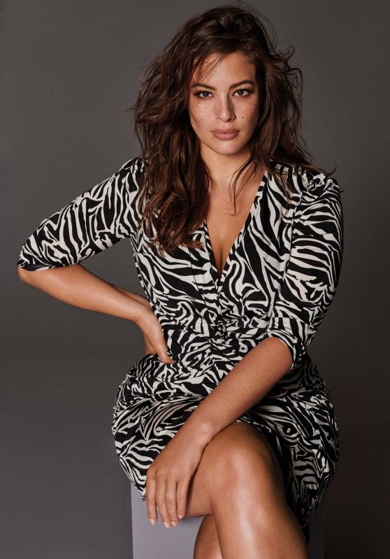 """Ashley Graham Presents the new Campaign by """"Violeta By Mango"""" in Madrid (2018)"""