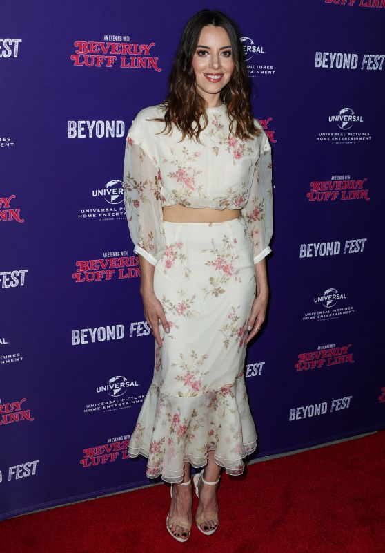 "Aubrey Plaza - ""An Evening with Beverly Luff Linn"" Premiere in LA"