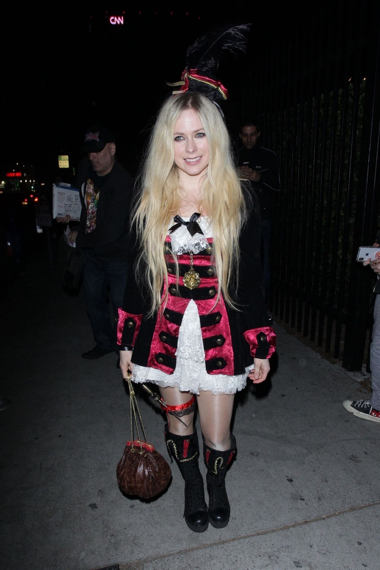 Avril Lavigne Halloween 2020 Avril Lavigne – Just Jared's Halloween Party 2018
