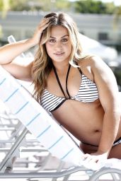 Ayesha Perry-Iqbal in Bikini - Poolside Photoshoot in Los Angeles 10/21/2018