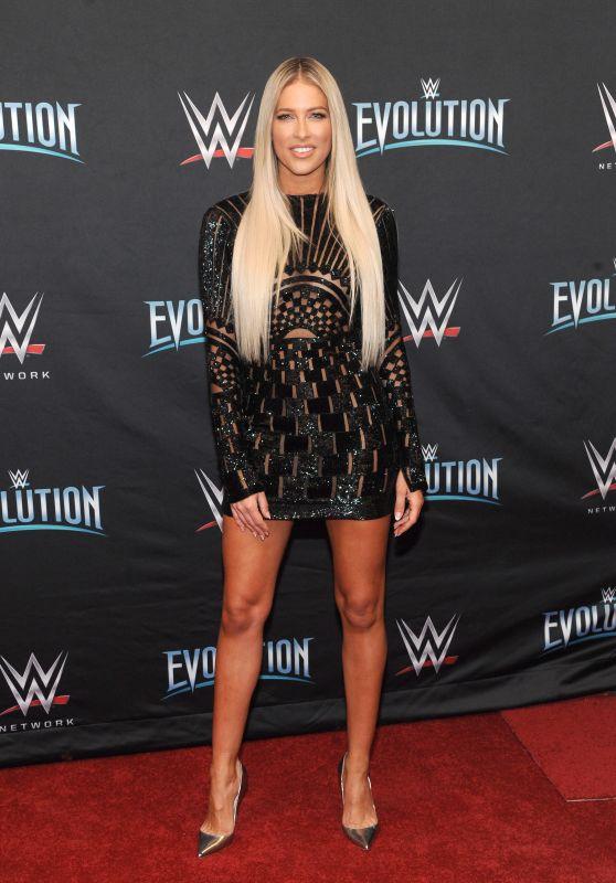 Barbie Blank – WWE Evolution in New York 10/28/2018