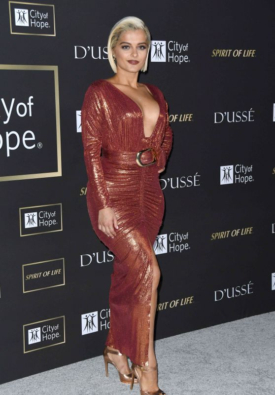 Bebe Rexha - City of Hope Gala in LA 10/11/2018