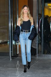 Behati Prinsloo - Fitting Session at the Victoria