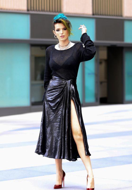 Bella Thorne is Stylish in Culver City 10/02/2018