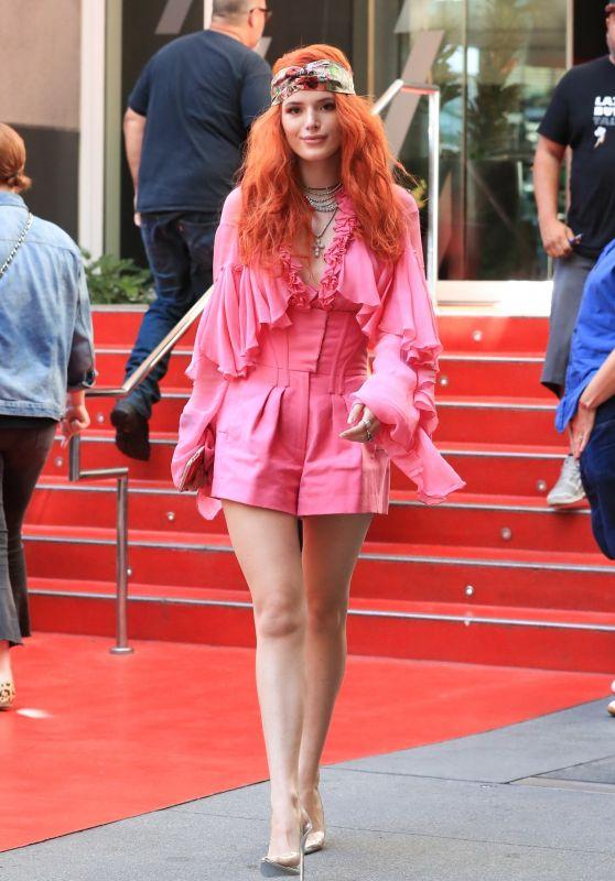 Bella Thorne - W Hotel in West Hollywood 10/01/2018