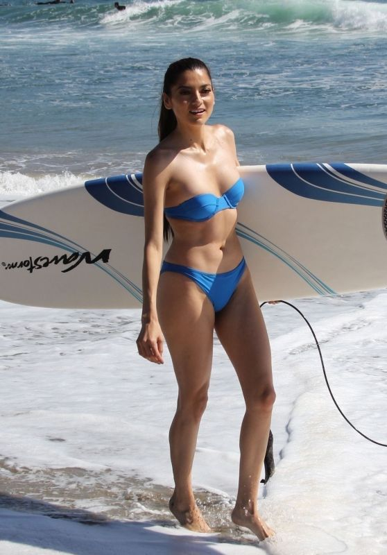 Blanca Blanco in Bikini at the Beach in Malibu 10/15/2018