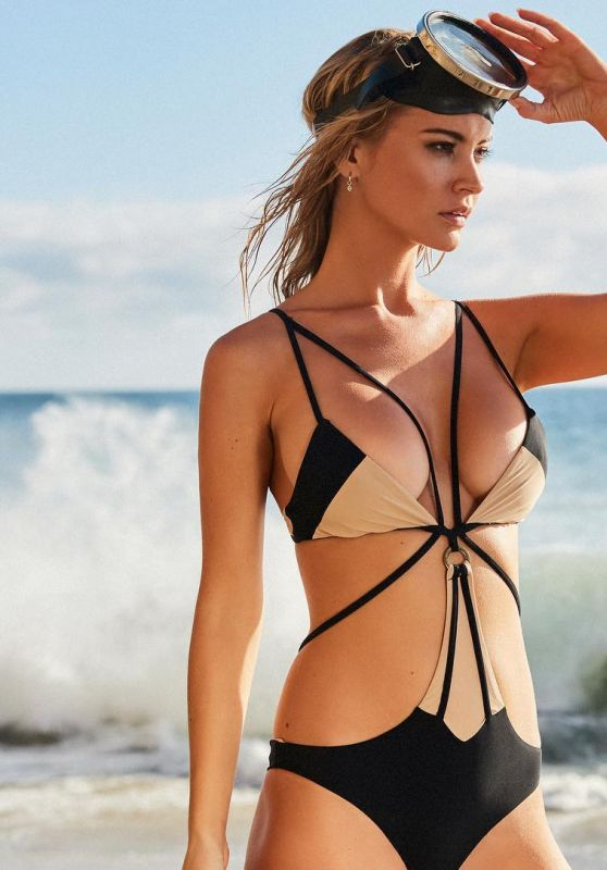 Bryana Holly - Perfect Peach Swimwear Collection 2018