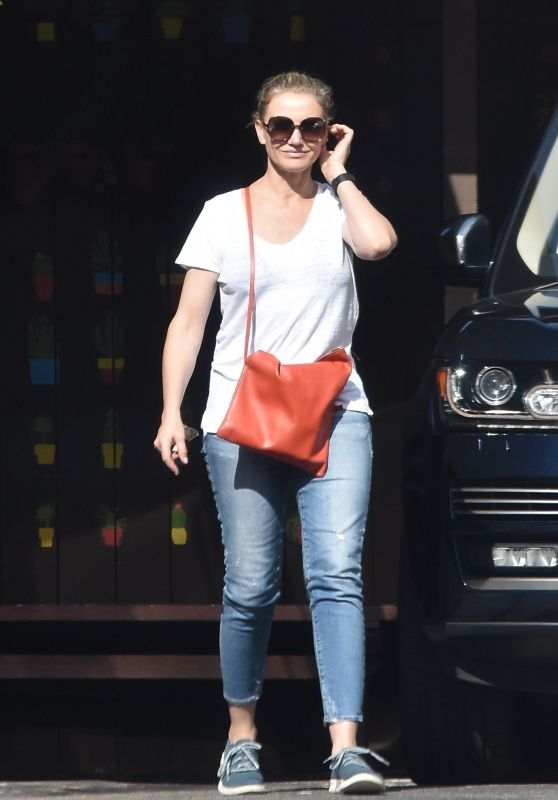 Cameron Diaz and Nicole Richie - Out in Studio City  10/28/2018