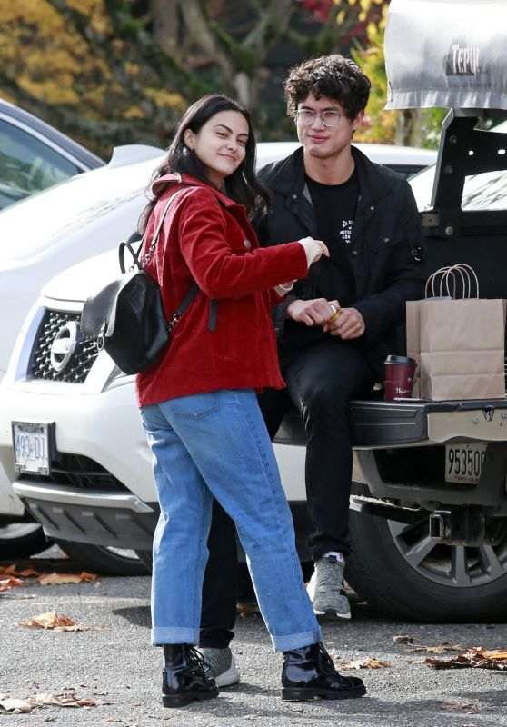 Camila Mendes - Out in Vancouver 10/30/2018