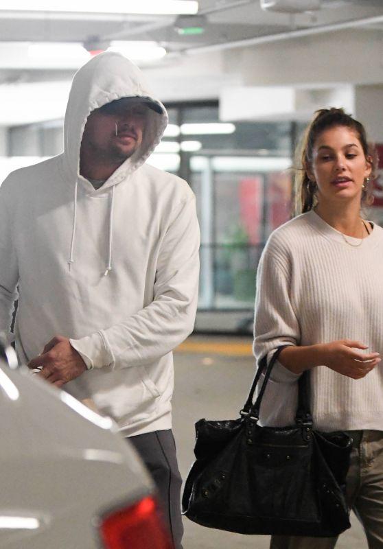 Camila Morrone and Leonardo DiCaprio in Century City 10/16/2018
