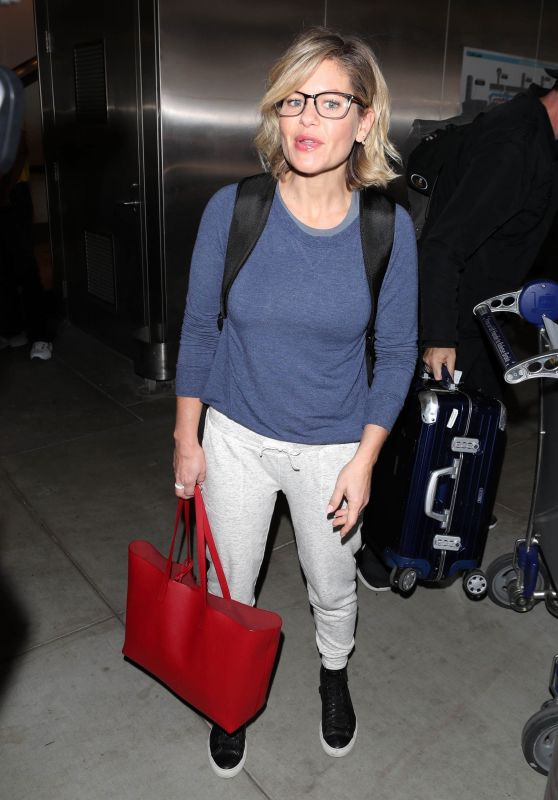 Candace Cameron at Lax Airport in LA 10/17/2018