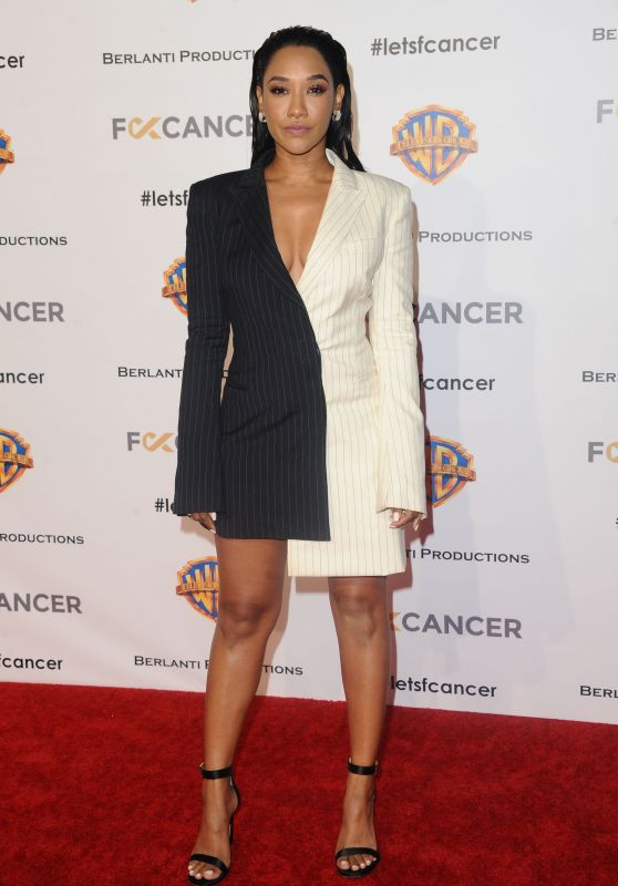 Candice Patton – F*ck Cancer's 1st Annual Barbara Berlanti Heroes Gala in Burbank 10/13/2018