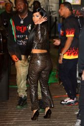Cardi B Arrives at TAO in New York 10/20/2018