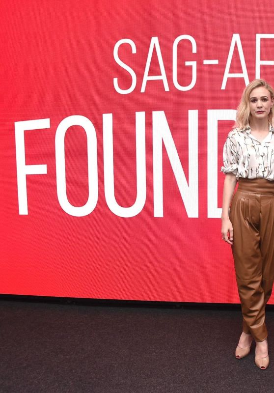 "Carey Mulligan - SAG-AFTRA Foundation Conversations: ""Wildlife"" in NYC 10/01/2018"