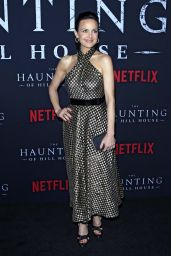 "Carla Gugino - ""The Haunting of Hill House"" Season 1 Premiere in Hollywood"