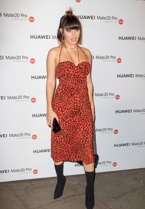 Charli XCX - Huawei Mate 20 Pro VIP Launch in London 10/16/2018
