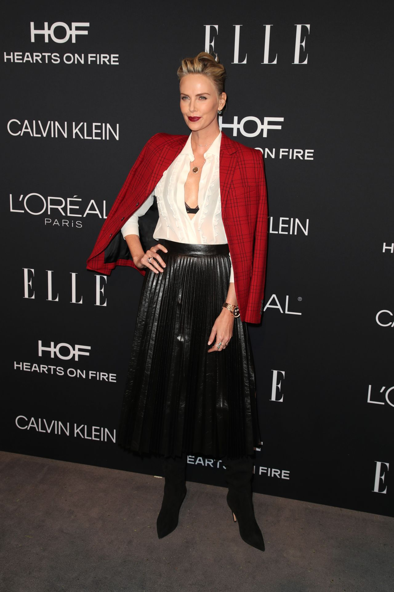 Charlize Theron - Elle's 25th Annual Women in Hollywood ...