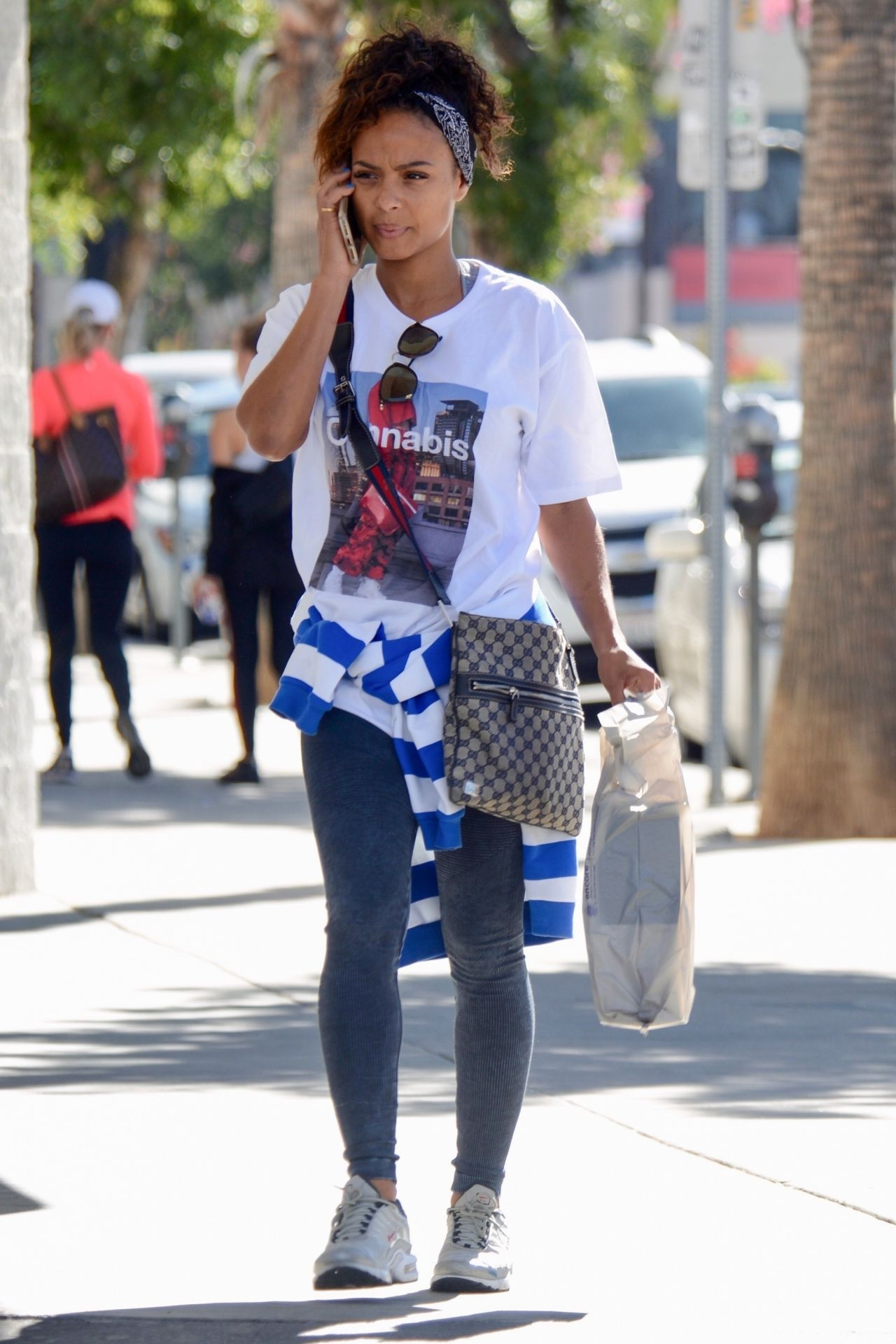 Christina milian street style studio city naked (43 photo), Cleavage Celebrites pic