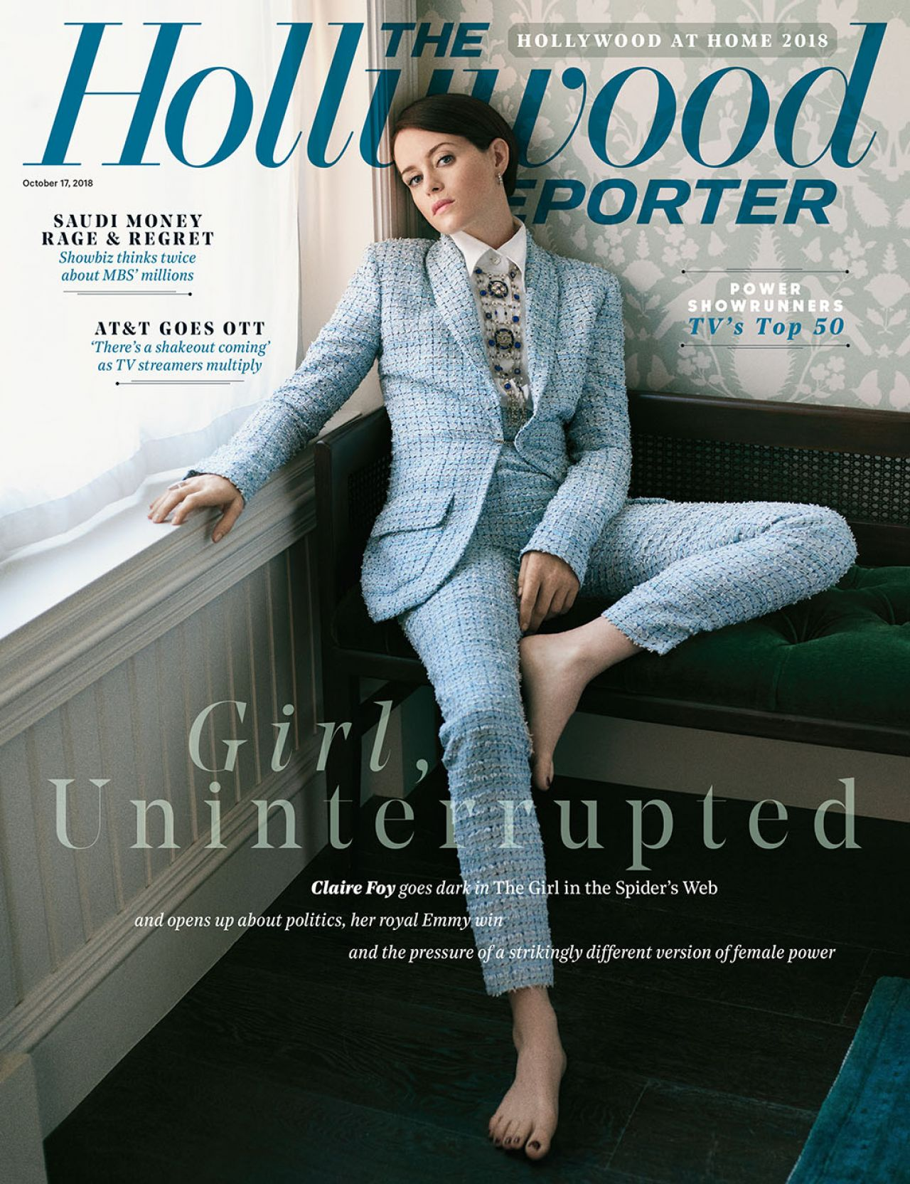 Claire Foy - The Hollywood Reporter, October 2018 Issue