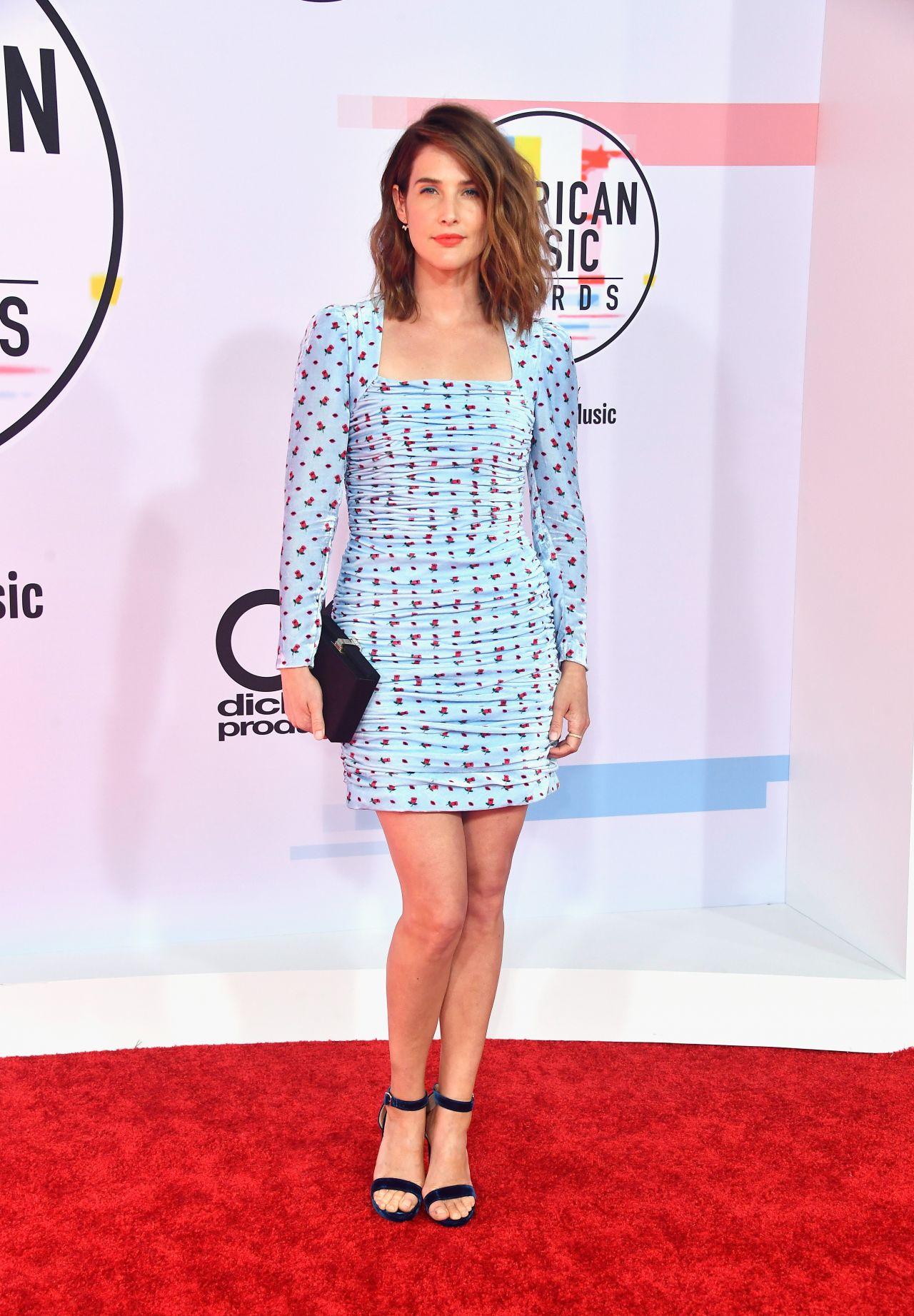 Cobie Smulders 2018 American Music Awards In Los Angeles