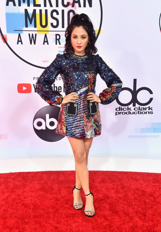 Constance Wu – 2018 American Music Awards in Los Angeles