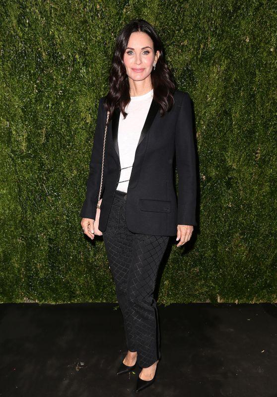 Courteney Cox – Through Her Lens: The Tribeca Chanel Women's Filmmaker Program Celebration in NY 10/16/2018